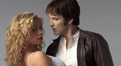 True Blood, Bill et Sookie, Anna Paquin et Stephen Moyer