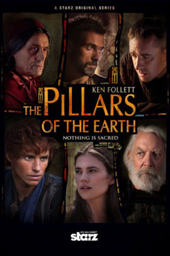 Affiche The Pillars of the Earth