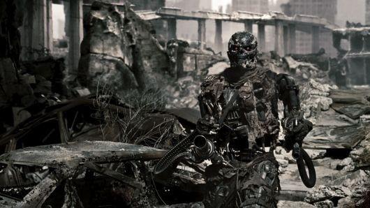 un Terminator T600 : modèle obsolète mais costaud