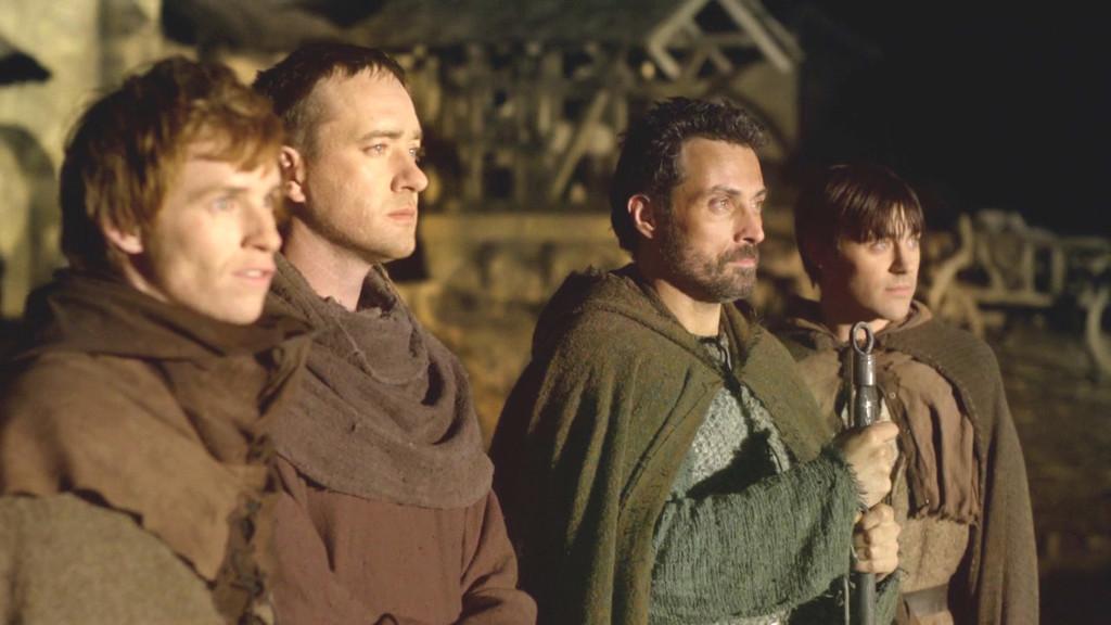 Les Piliers de la Terre 07 - Rufus Sewell - Eddie Redmayne - Matthew MacFadyen - Liam Garrigan