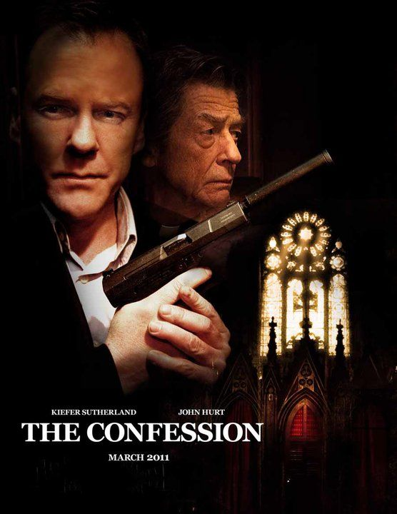 The Confession - Saison 1. Websérie créée en 2011. Avec : Kiefer Sutherland, John Hurt