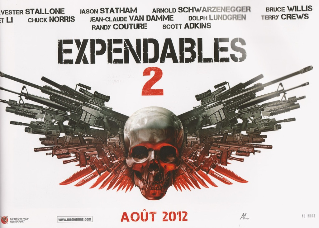 The Expendables 2 En. (2012)