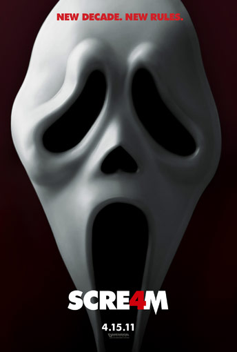 SCREAM 4  dans NEWS HORRIFIQUE