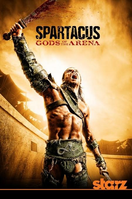 affiche Spartacus : Les Dieux De l'Ar�ne